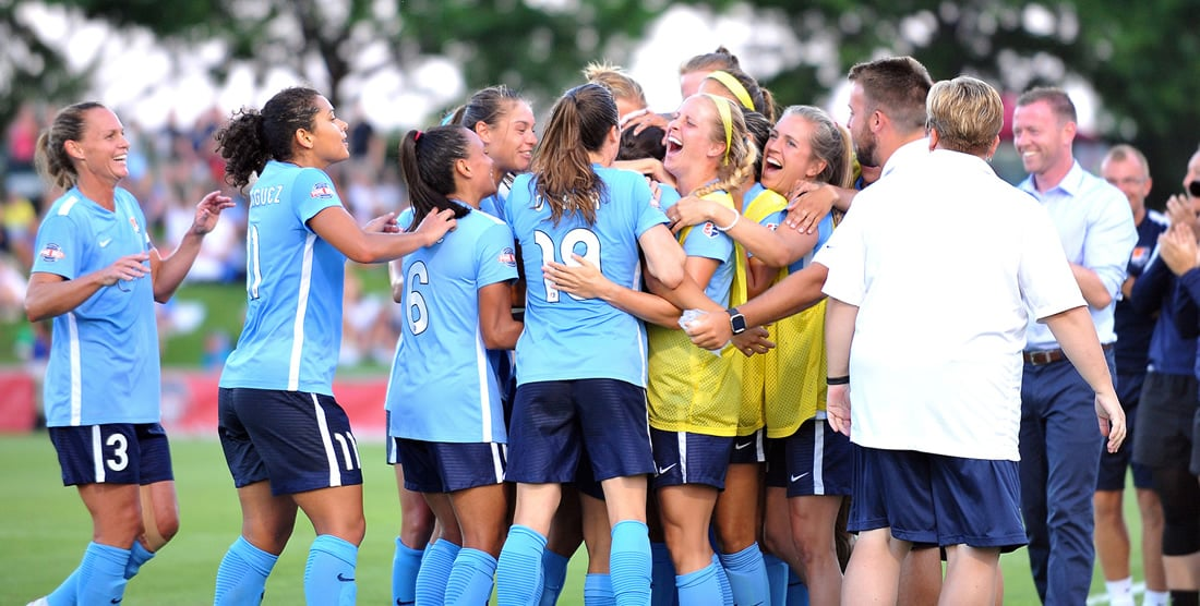 PRESEASON BEGINS Sky Blue starts training, unveils its roster