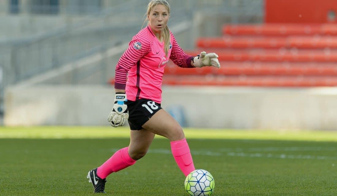 WAIVING GOODBYE: Sky Blue releases goalkeeper Caroline Stanley