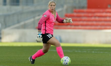 WAIVING GOODBYE: Sky Blue releases goalkeeper Caroline Stanley