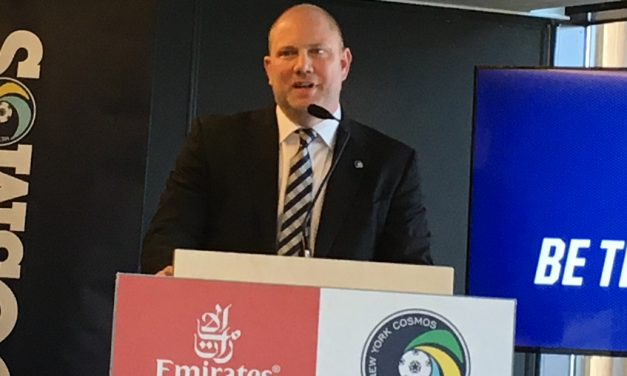 MOVING ON: Stover leaves Cosmos to become Fox Soccer Academy CEO