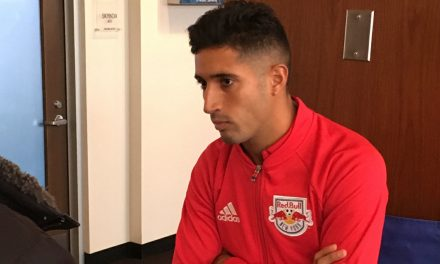 VERON RETURNS: He could train with Red Bulls as early as today