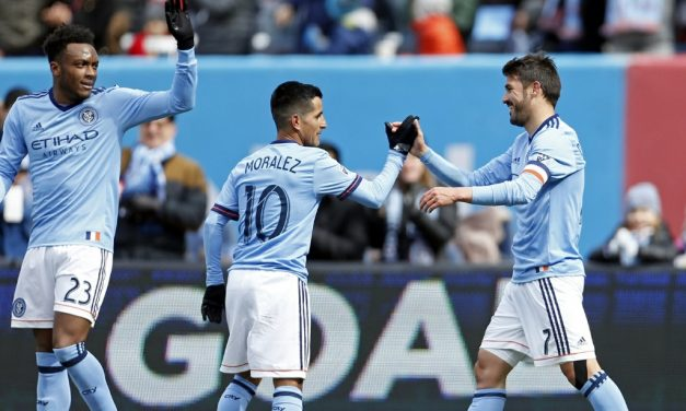 TYING ONE ON: NYC FC can't hold lead in 1-1 draw with Impact