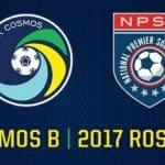 A DANDY DOZEN: Cosmos B sign 12 players for NPSL season