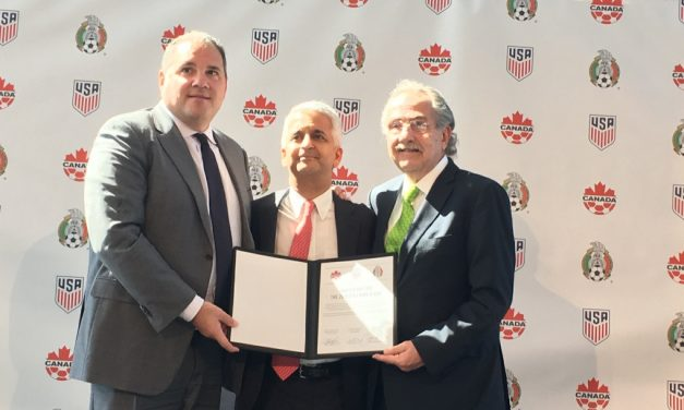 THE THREE AMIGOS: U.S., Canada, Mexico to submit a joint bid for 2026 World Cup