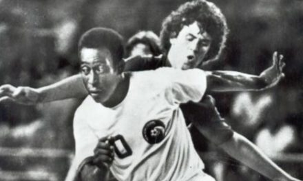 OFFSIDE REMARKS: When the Cosmos' Pele and Beckenbauer saw the light of the 1977 blackout