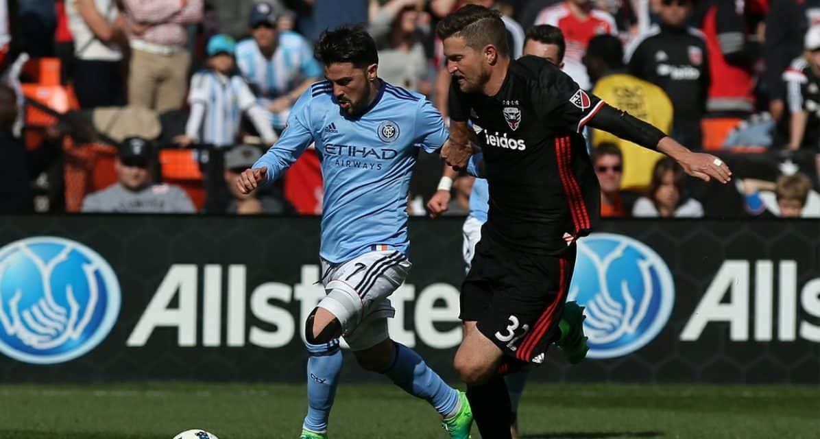 NOT BRILLIANT ENOUGH: Brillant's blunder helps doom NYC FC in 2-1 defeat to D.C.