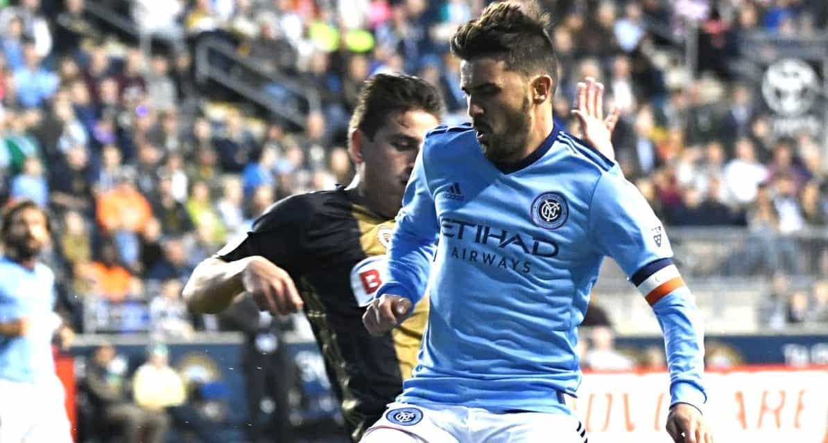 MARVELING AT THE GOLAZO: NYC FC players, coach hail Villa's 'fantastic, incredible' goal