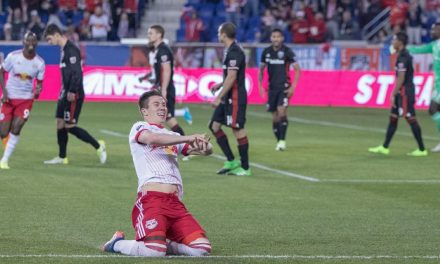 SOME HOMEGROWN COOKING: Muyl stirs the pot, starts Red Bulls on way to victory