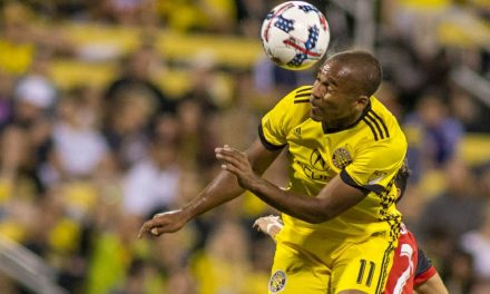 ONE TRICKY GOAL-SCORER: Columbus' Kamara has proven to be quite elusive and prolific