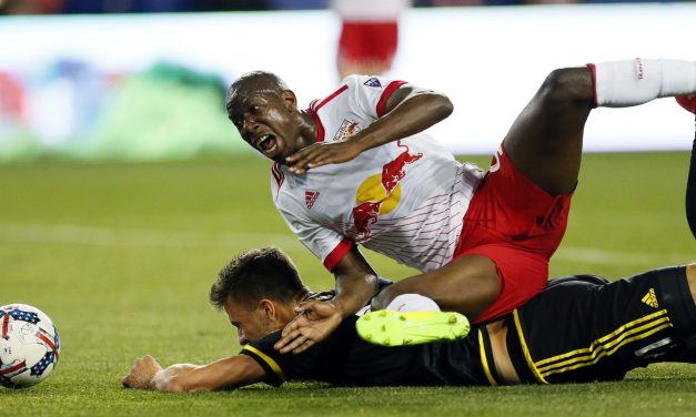 NO INJURY, NO PROBLEM: Wright-Phillips isn't hamstrung, trains with the Red Bulls