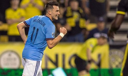 NO STARS, BUT A WIN: Without Villa, Pirlo NYCFC earn 3-2 victory in Columbus behind Harrison's 2 goals