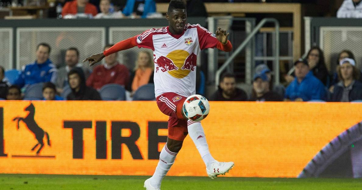 ON LOAN AGAIN: Red Bulls' Abang joins Finnish side