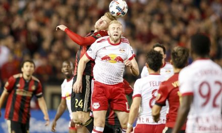 RED BULLS NOTEBOOK: Grella looking good in training, but he's not ready just yet