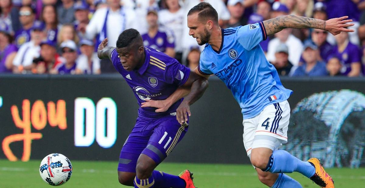 HIS HARSHEST CRITIC: NYC FC's Chanot expects perfection from himself