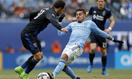 PLAYER OF THE WEEK: NYC FC defender Matarrita (two assists) gets the nod