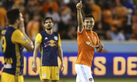 HOUSTON, WE HAVE A ROUT: Dynamo rolls over Red Bulls, 4-1