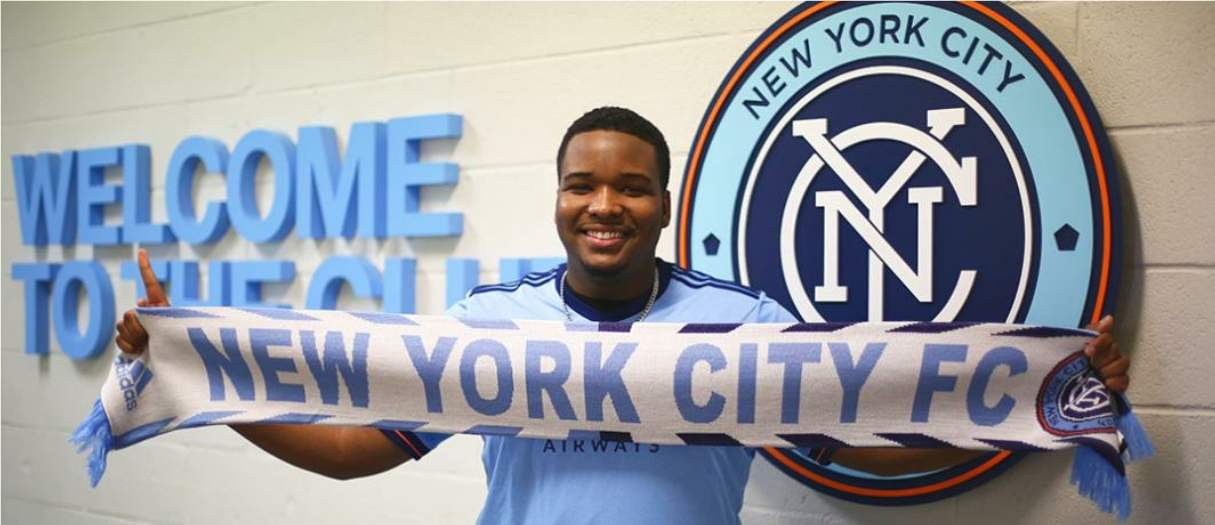 FIRST TIME FOR EVERYTHING NYC FC signs Hempstead man as 1st eSports player in MLS history
