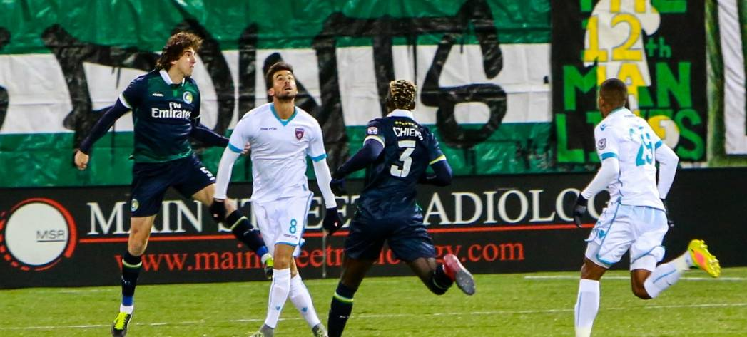 EVERYTHING BUT THREE POINTS: Cosmos do everything right on a memorable opening night, but win
