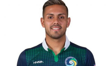 OPENING THE DOOR: Not only did Herrera lead El Salvador to Gold Cup, his clinching goal helped him sign with Cosmos
