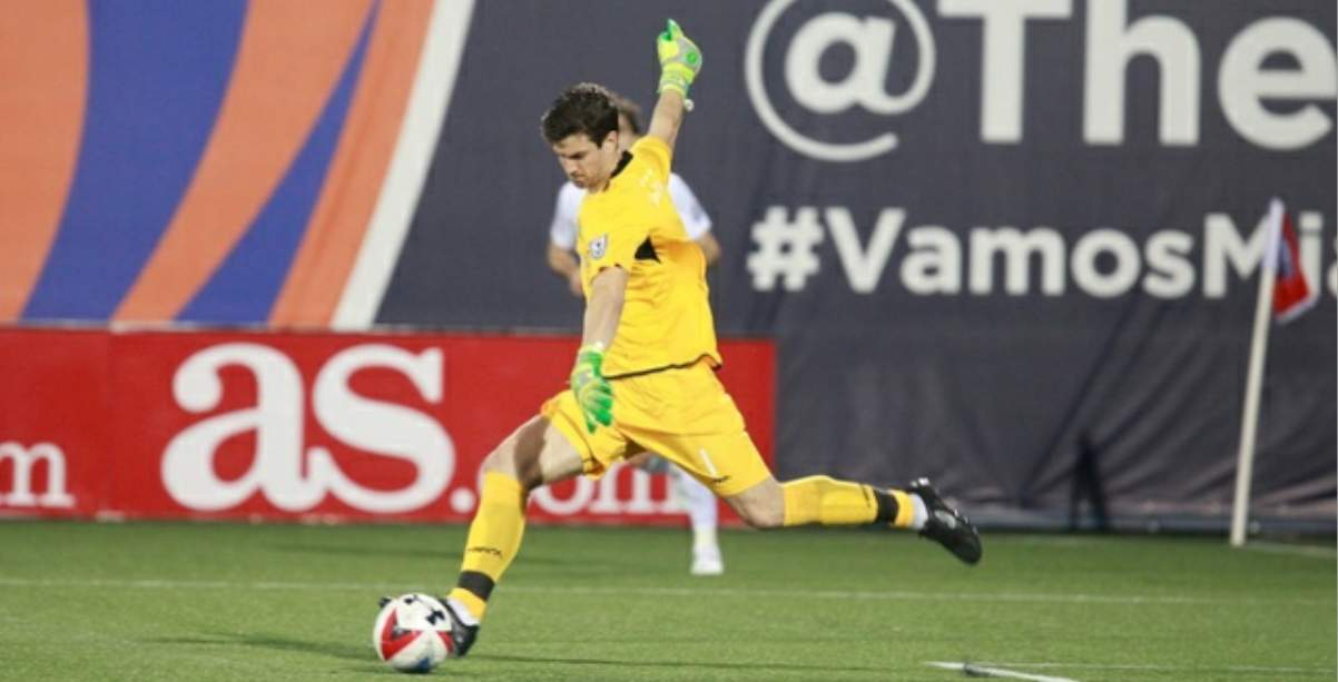 MANY SAVING GRACES: Cosmos GK Jimmy Maurer man player of the week