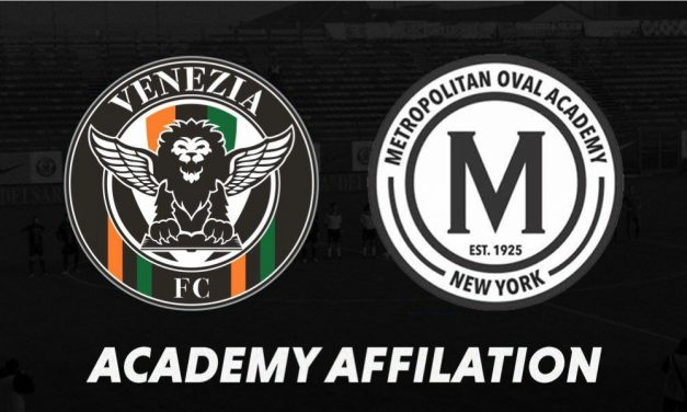 NEW YORK-ITALY CONNECTION: Met Oval and Venezia FC partner up