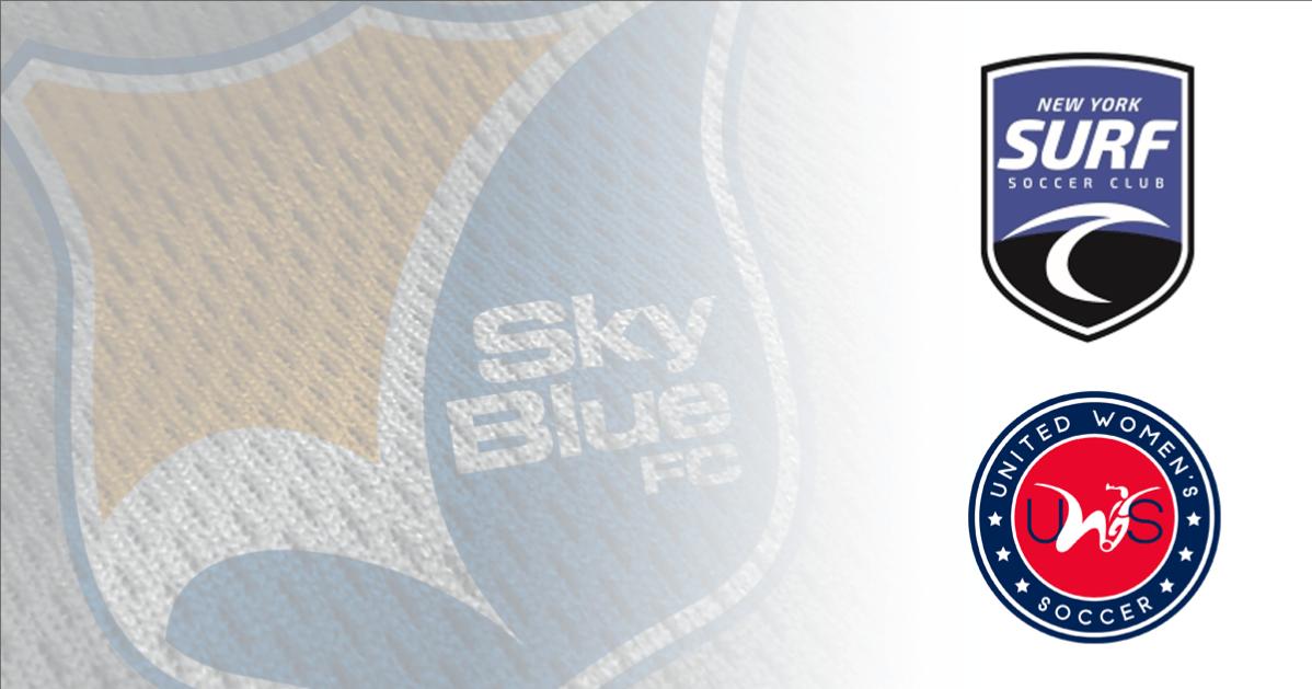 BACKING THEM UP: New York Surf SC named Sky Blue's amateur reserve team