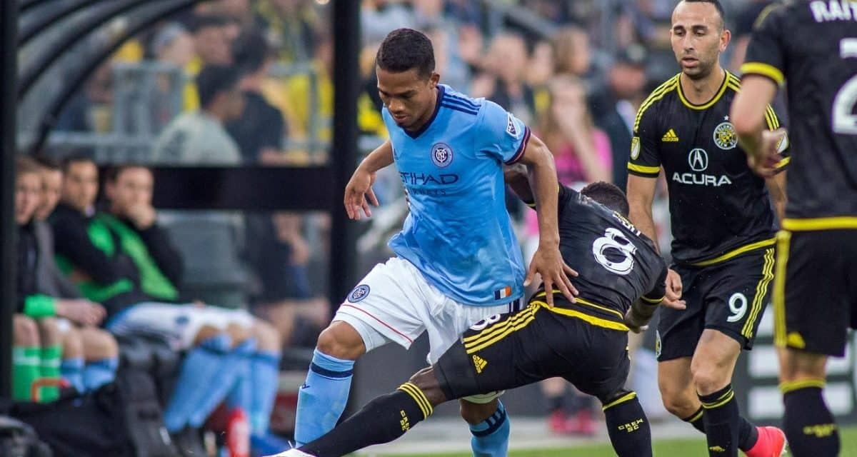 NOT ACTING THEIR AGE: NYCFC's Vieira wary of expansion team Atlanta United (2-1-2 away)