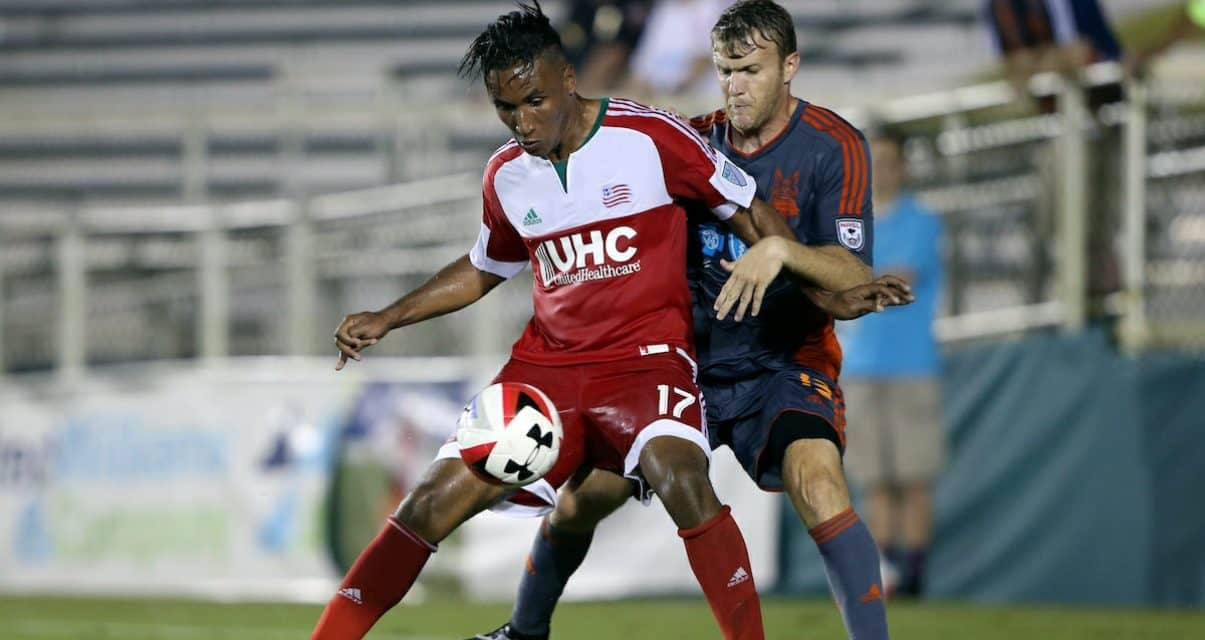 READY TO GO: Revs' Agudelo expected to be available for Red Bulls