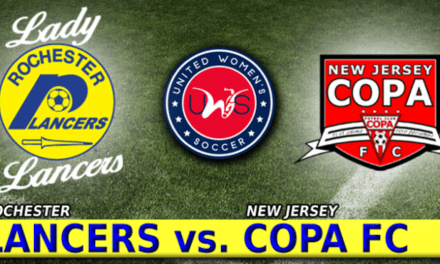 A DIFFICULT DEBUT: New Jersey Copa defeat Lady Lancers in UWS season opener