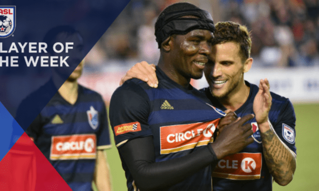 NASL HONORS: North Carolina's Laing named player of the week