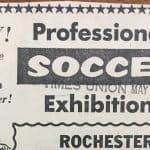 50 YEARS AGO TODAY: The Rochester Lancers' played their first game on May 30, 1967