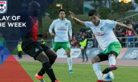 NASL PLAY OF THE WEEK: Cosmos' Ledesma pulls it off