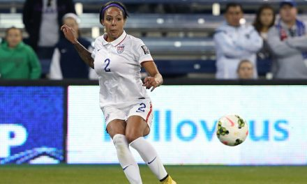 TOP PLAYER: Leroux named NWSL player of the week
