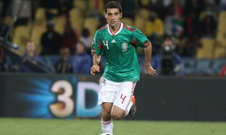 A JERSEY RETURN: Rafa Marquez on Mexican team for MetLife friendly