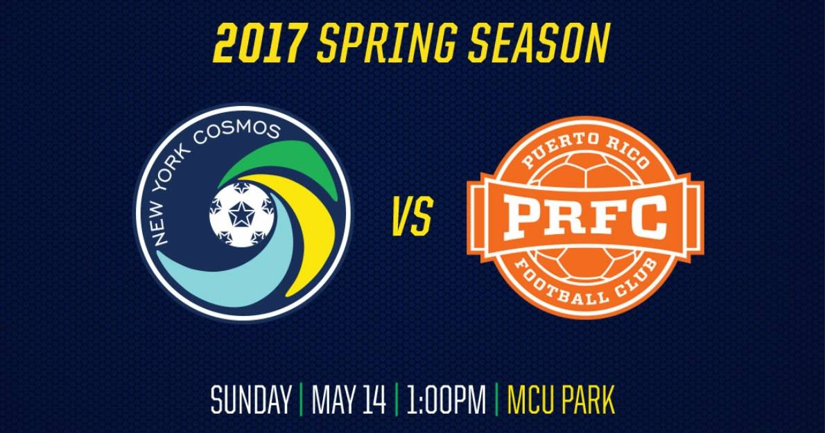 MOTHER NATURE 1, SOCCER 0: Cosmos-Puerto Rico game ppd. until Sunday