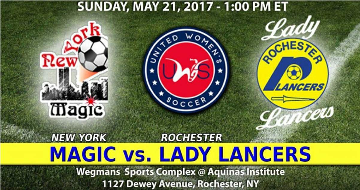 HOME OPENER: Rochester Lady Lancers host New York Magic Sunday