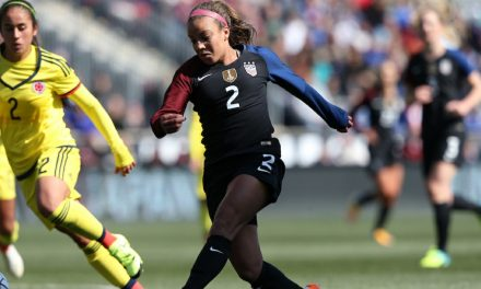 GETTING OFF ON THE RIGHT FOOT: Pugh, U.S. women roll over Denmark, 5-1