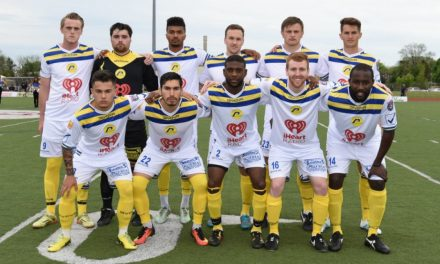 FIRST TIME FOR EVERYTHING: Lancers use big 2nd-half to blank Syracuse for 1st NPSL win