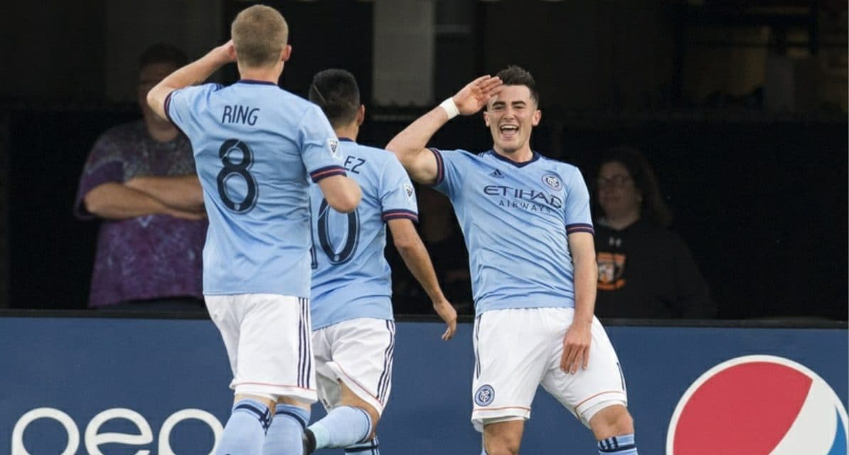 PLAYER OF THE WEEK: NYCFC's Jack Harrison (2 goals, game-winner)