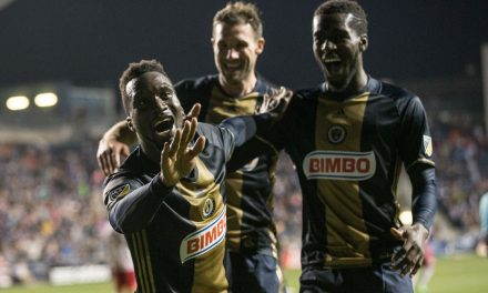 NO SURPRISE HERE, EITHER: Philly's Sapong (hat-trick vs. Red Bulls) MLS player of the week