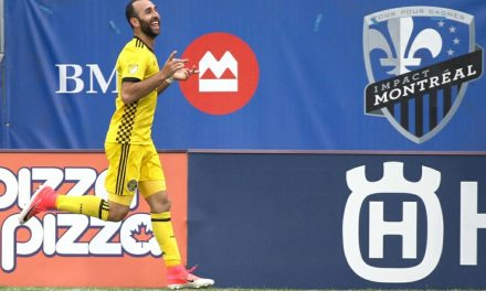 HAT-TRICK HERO: Crew's Meram named MLS player of the week