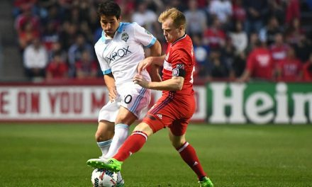 DAX'S DELIGHT: McCarty says Fire rises to occasion vs. MLS defending champs