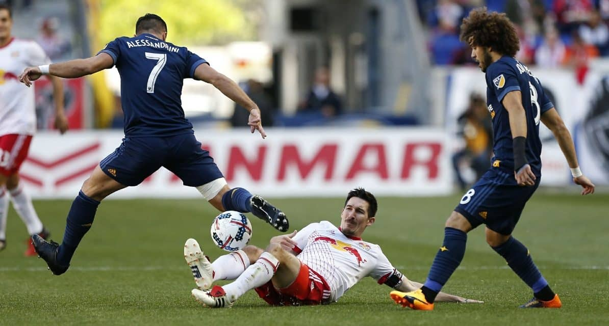 A ROMAIN HOLIDAY: Alessandrini's 2 early goals spark Galaxy over struggling Red Bulls