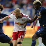 NOT IMPRESSED AT ALL: Grella: 'My performance was probably the worst I've played, probably the worst I've had in a Red Bull shirt'