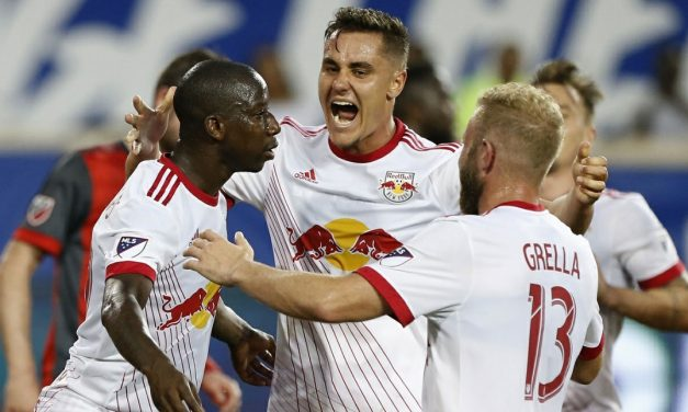GETTING THE POINT: Red Bulls put ugly loss behind them by battling Toronto FC to a draw