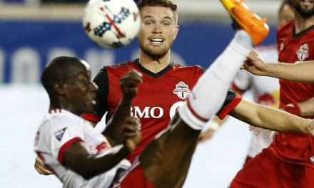 ENTERTAINING DRAW: Red Bulls battle league-leaders Toronto FC to 1-1 tie