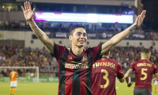 HAT'S OFF TO THIS GUY: Almiron (hat-trick) named MLS player of the week