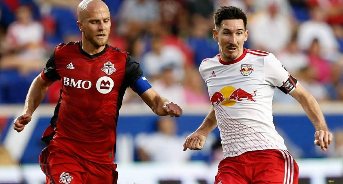 BALANCING THE BURDEN: Marsch tells Kljestan to worry about himself and the rest will fall in place