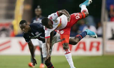 ON BOTH ENDS: Red Bulls' Lawrence is our player of the week