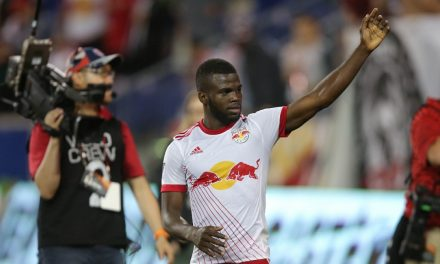 FROM SORROW TO JOY: Lawrence turns his anger of the death of his grandmother into a positive force for the Red Bulls